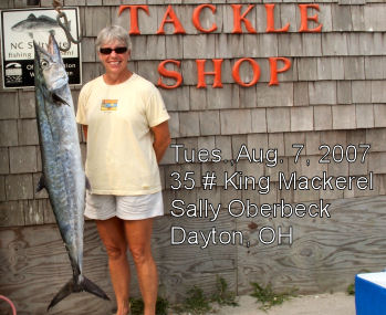 Tradewinds bait tackle ocracoke nc fishing report archive for Surf city nc fishing report